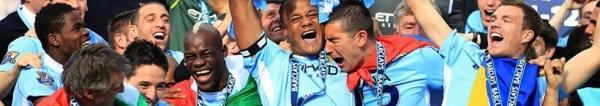 Manchester City Juara Liga Primer Inggris EPL 2012